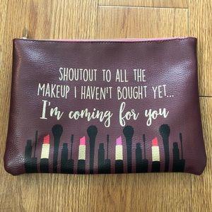 Charming Charlie Makeup Bag 💄